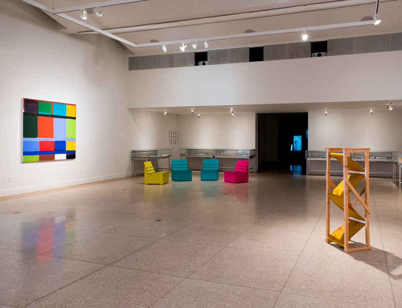 Stanley Whitney on view at The American Academy of Arts and Letters