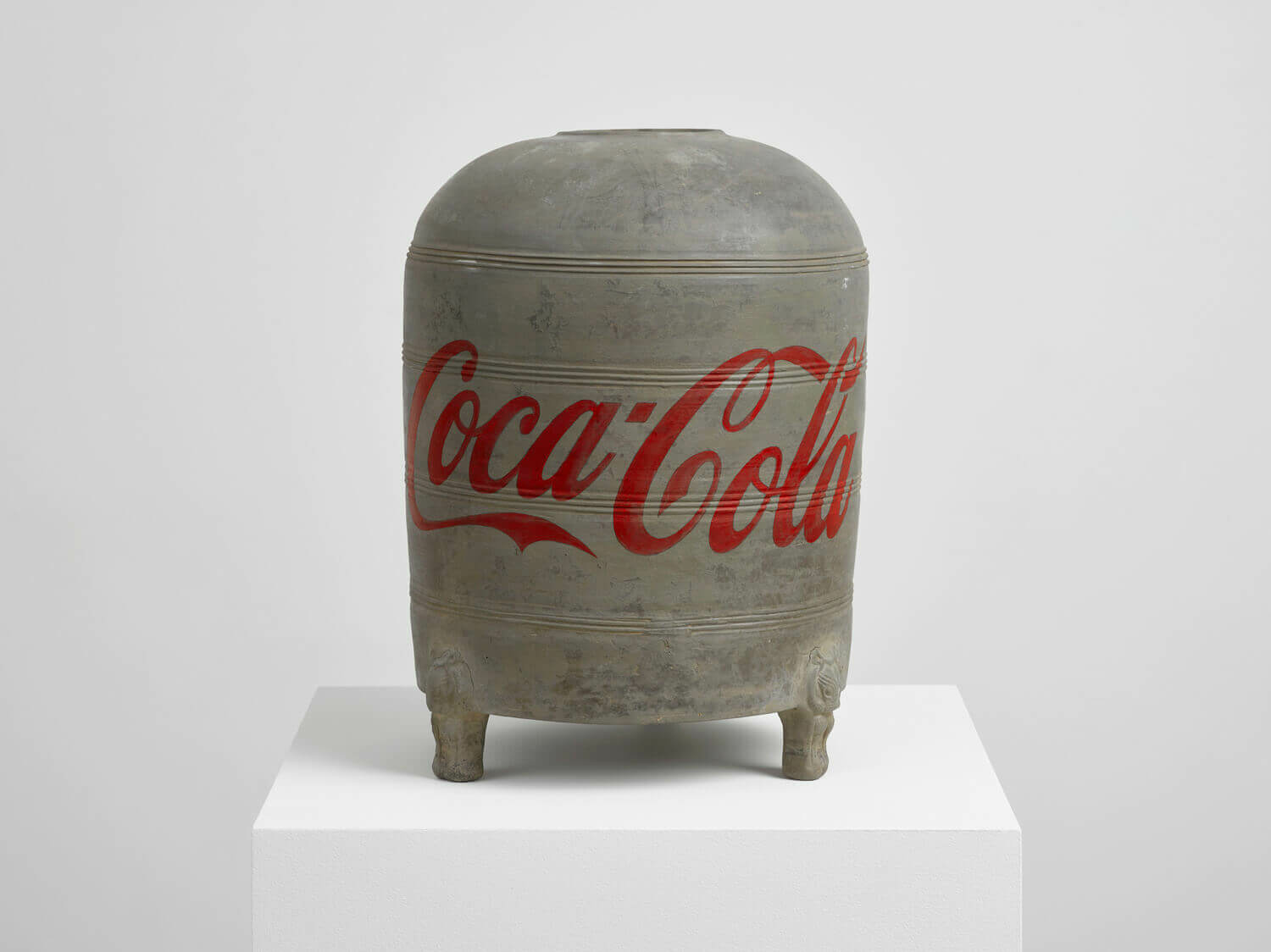 Coca Cola Vase Ai Weiwei Artists Lisson Gallery