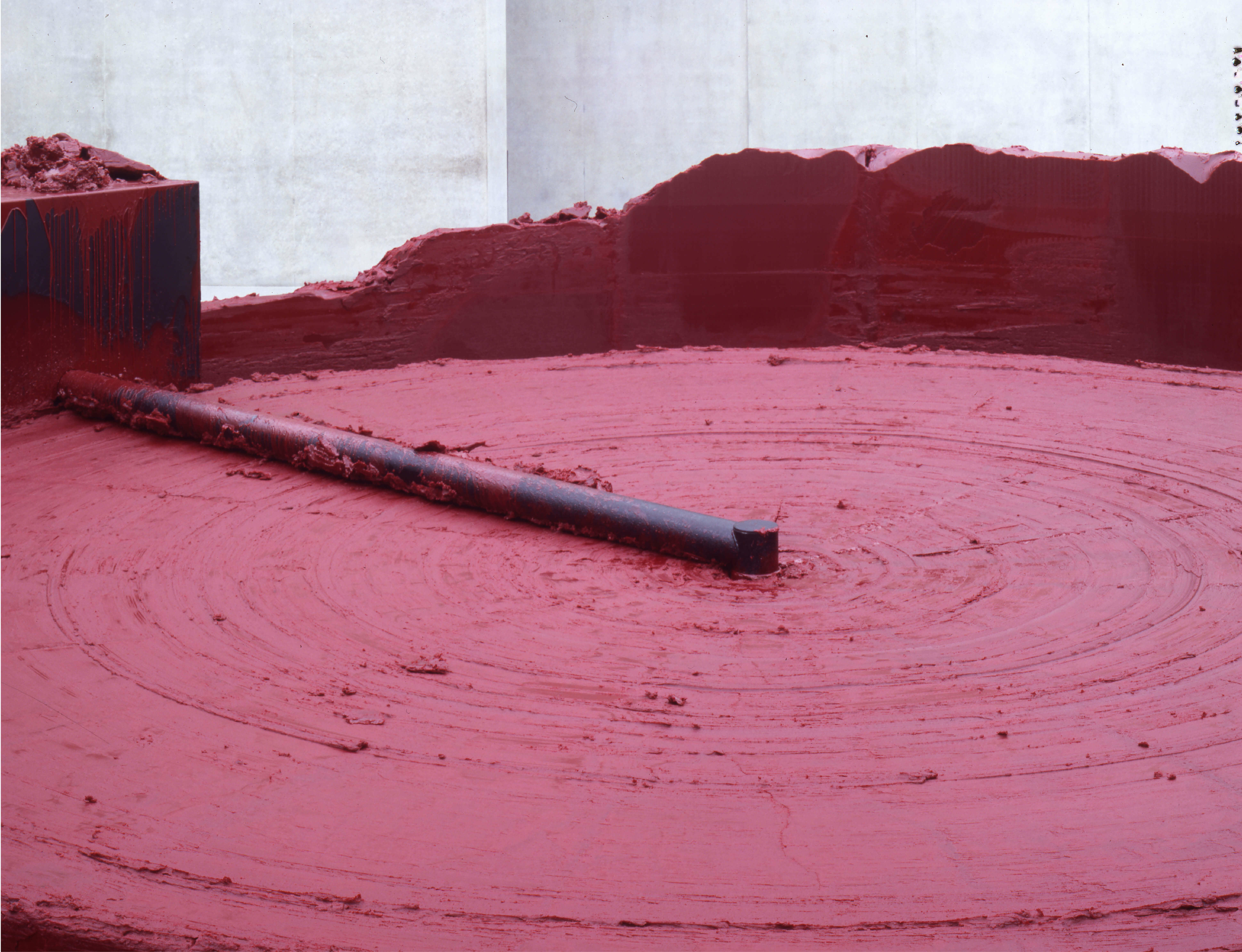 Anish Kapoor's 'My Red Homeland' goes on view in France