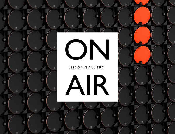 'ON AIR', a new podcast presented as part of 'Lisson Presents...', now live