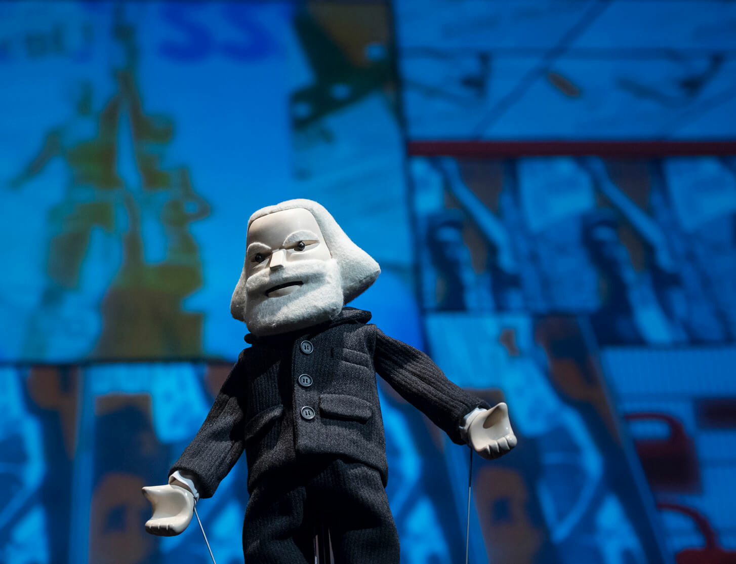 The Serpentine's Park Nights 2018 features puppet-play by Pedro Reyes