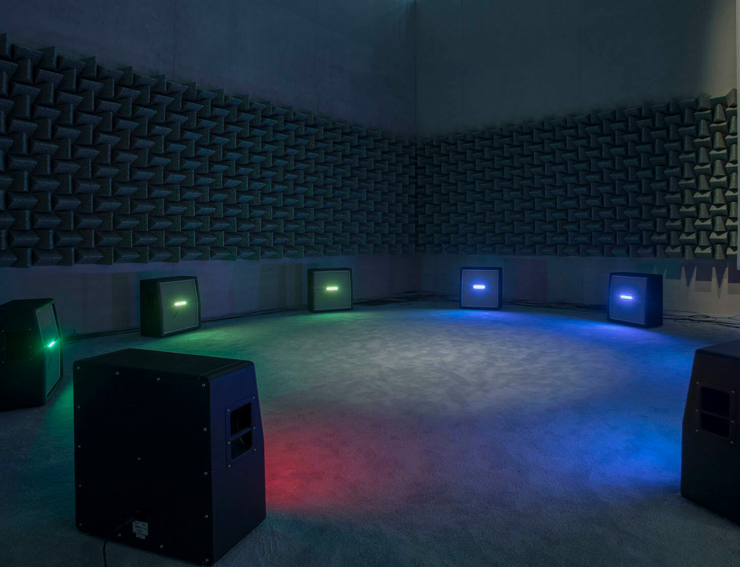 Haroon Mirza unveils new site-specific installation in San Francisco