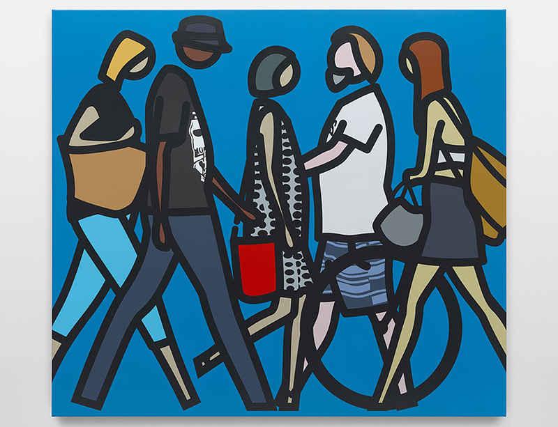 National Gallery of Victoria in Melbourne opens 'Julian Opie'  exhibition