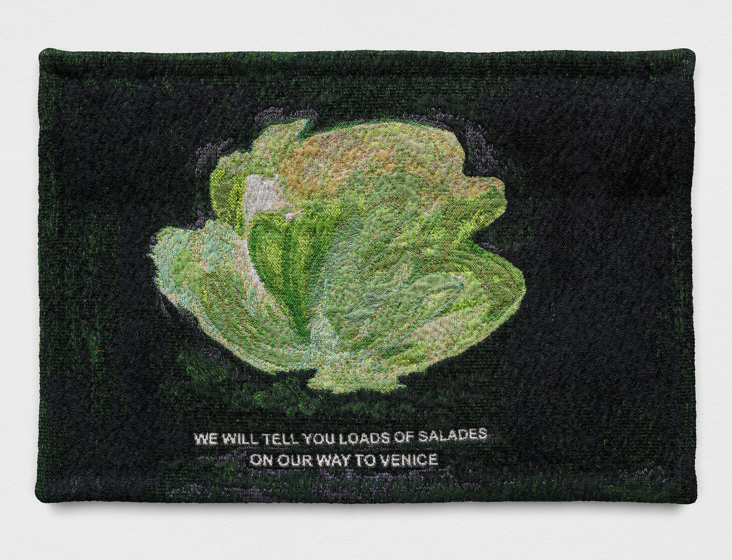 Tapestry by Laure Prouvost available for purchase, ahead of Venice Biennale