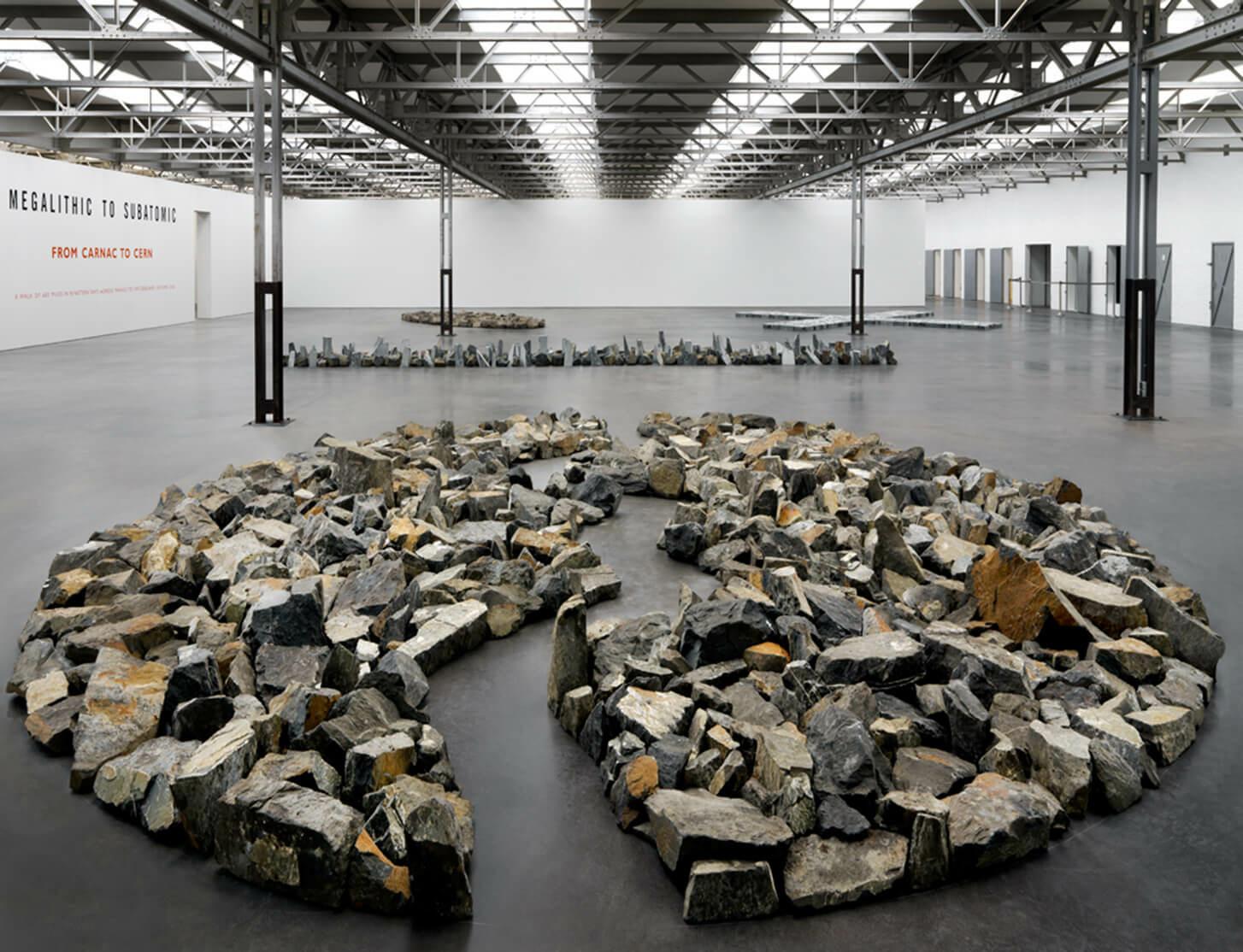 De Pont Museum in Tilburg opens major exhibition by Richard Long
