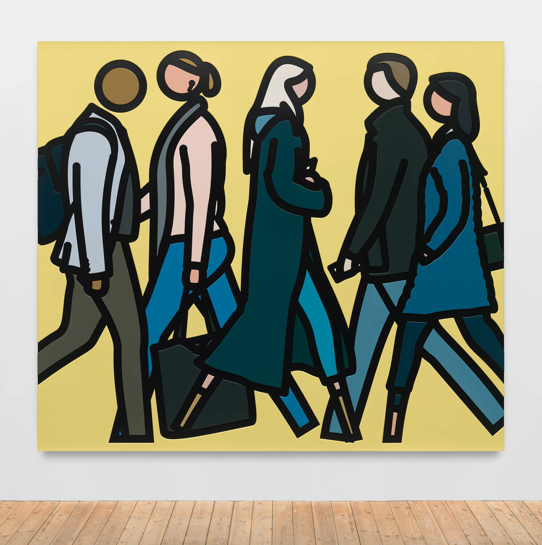 171b8ef52 Julian Opie | Artists | Lisson Gallery