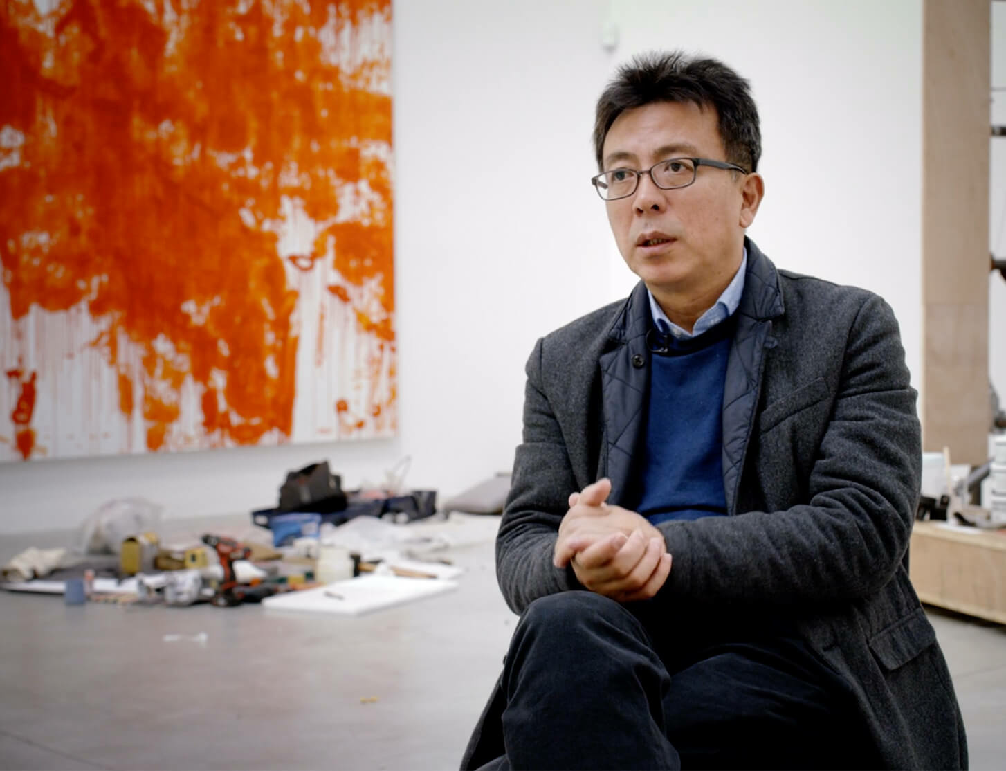 Watch now: 'The Art of Liu Xiaodong - Man and Machine' on HENI Talks