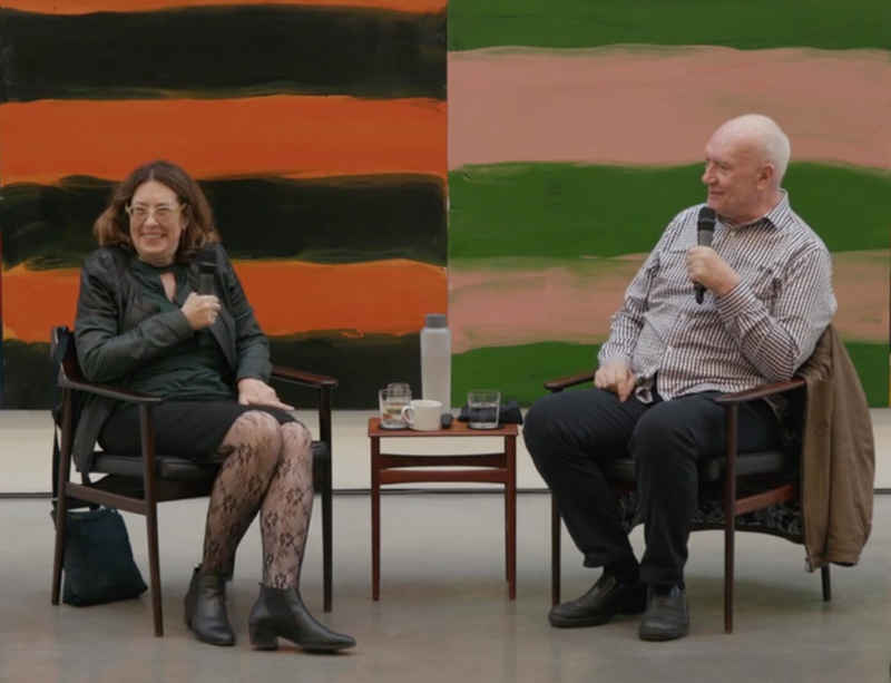 Watch now: Sean Scully in conversation with Deborah Solomon at Lisson Gallery