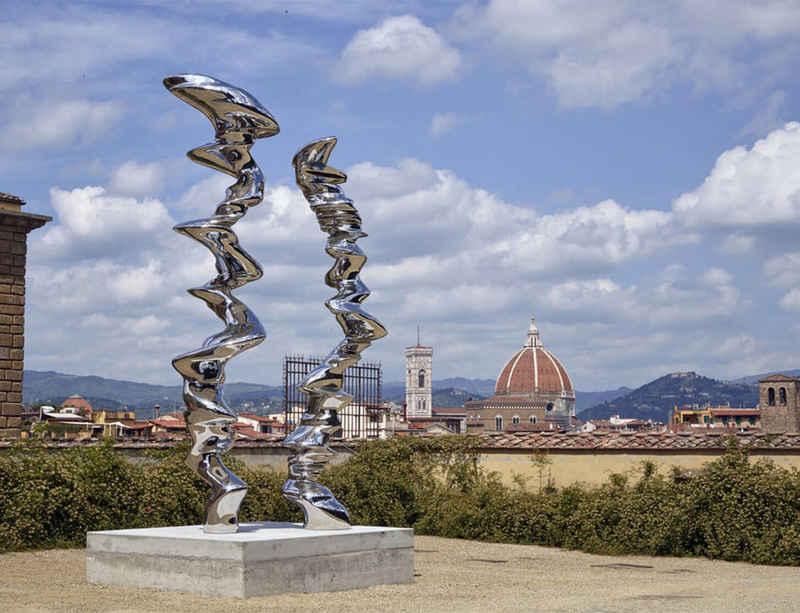 Uffizi Galleries present Tony Cragg at the Boboli Gardens
