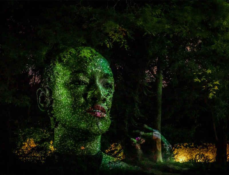 Tony Oursler 'Eclipse' at Fondation Cartier Paris