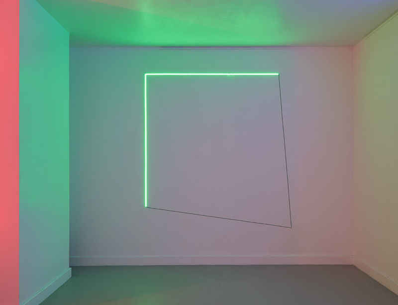 New series of 'Light Works' by Haroon Mirza on view at Amastan Paris during FIAC