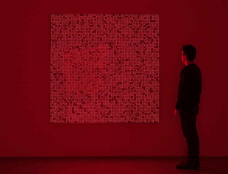 Tatsuo Miyajima opens at Santa Barbara Museum of Art