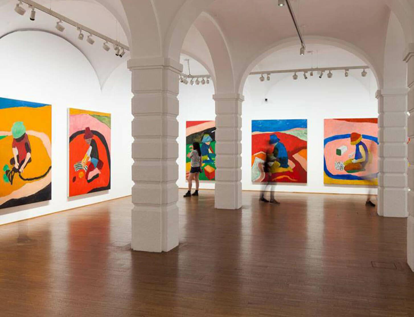 Sean Scully 'Eleuthera' at The Albertina Museum, Vienna