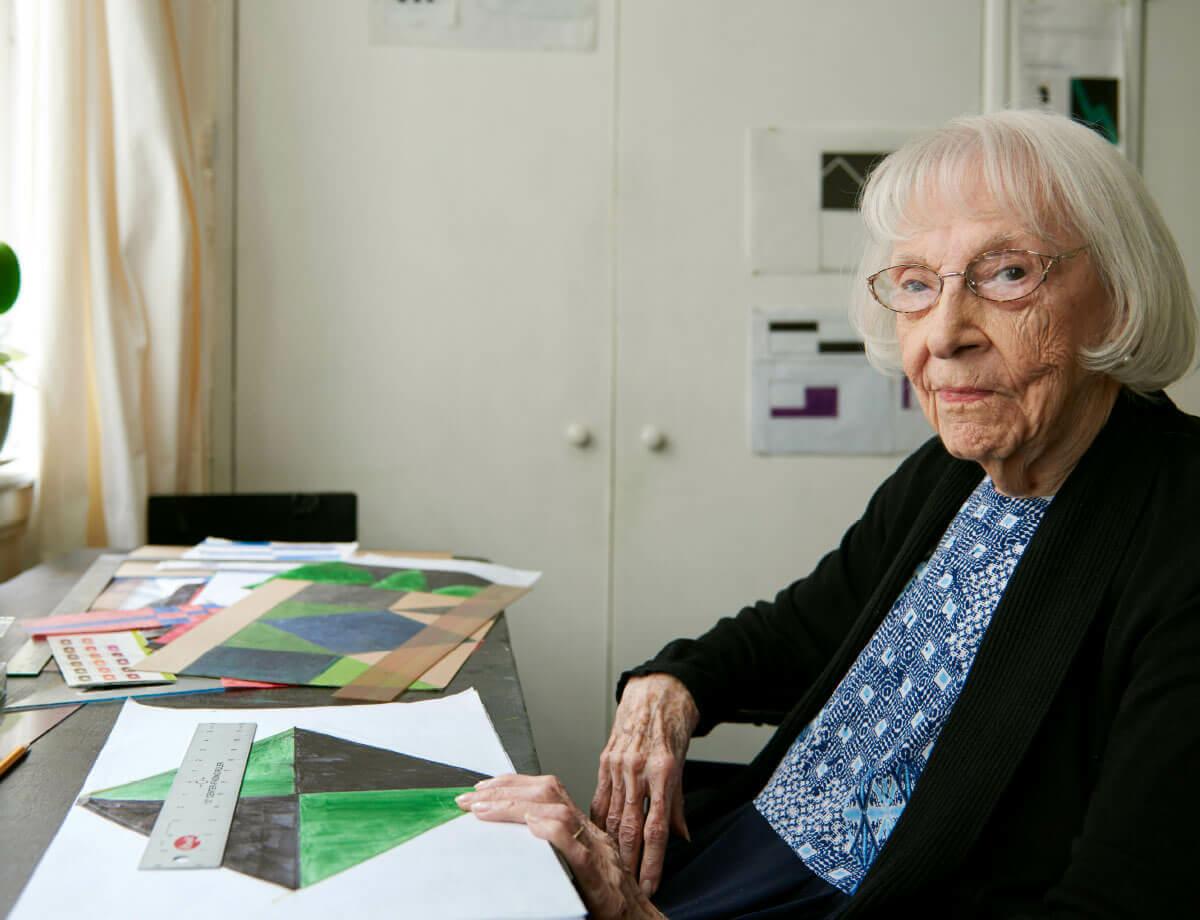Carmen Herrera at 105