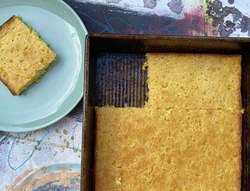 """Hugh Hayden shares his cornbread recipe for MoMA's """"Cooking with Artists"""" series"""