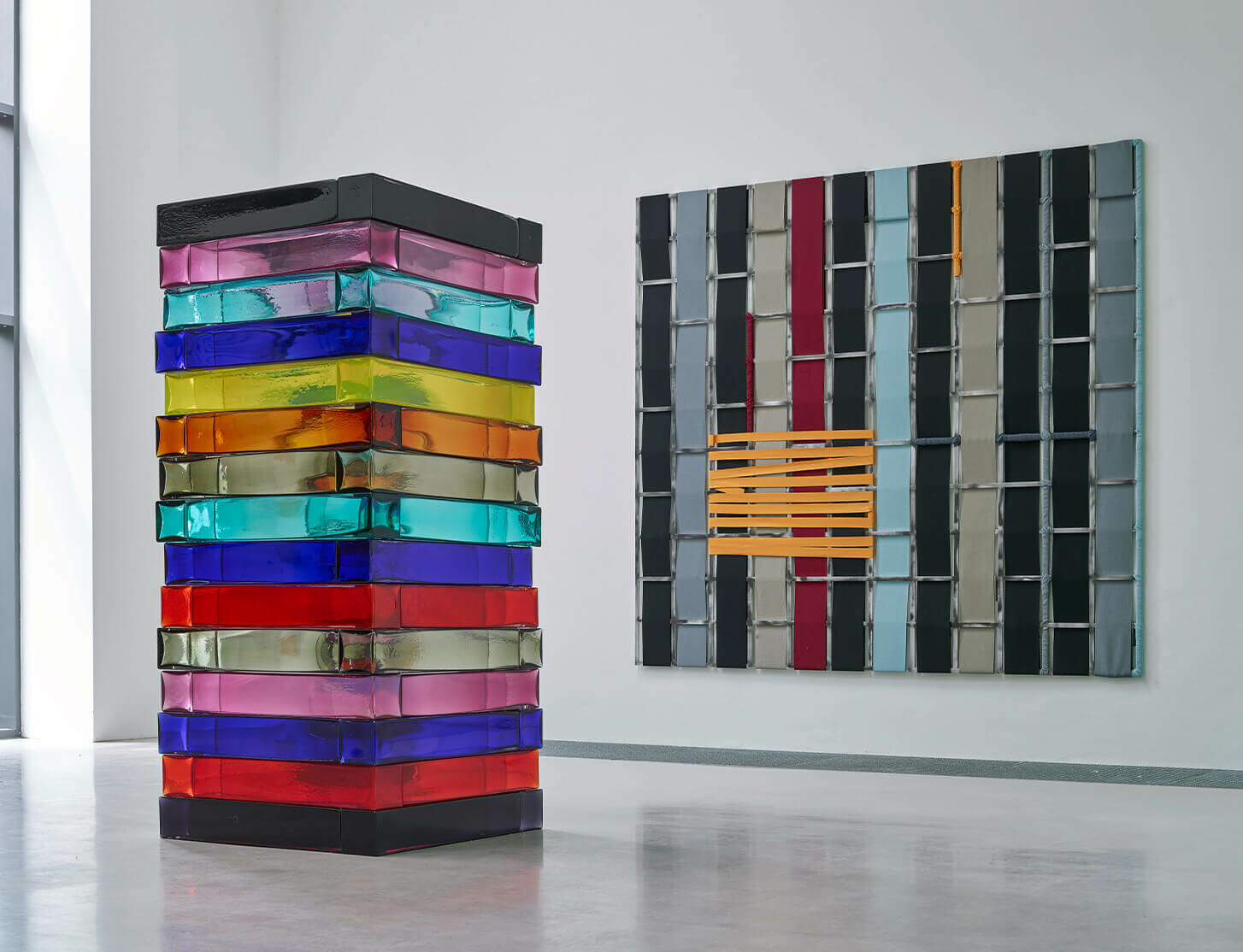 Sean Scully solo exhibition opens at Skulpturenpark Waldfrieden
