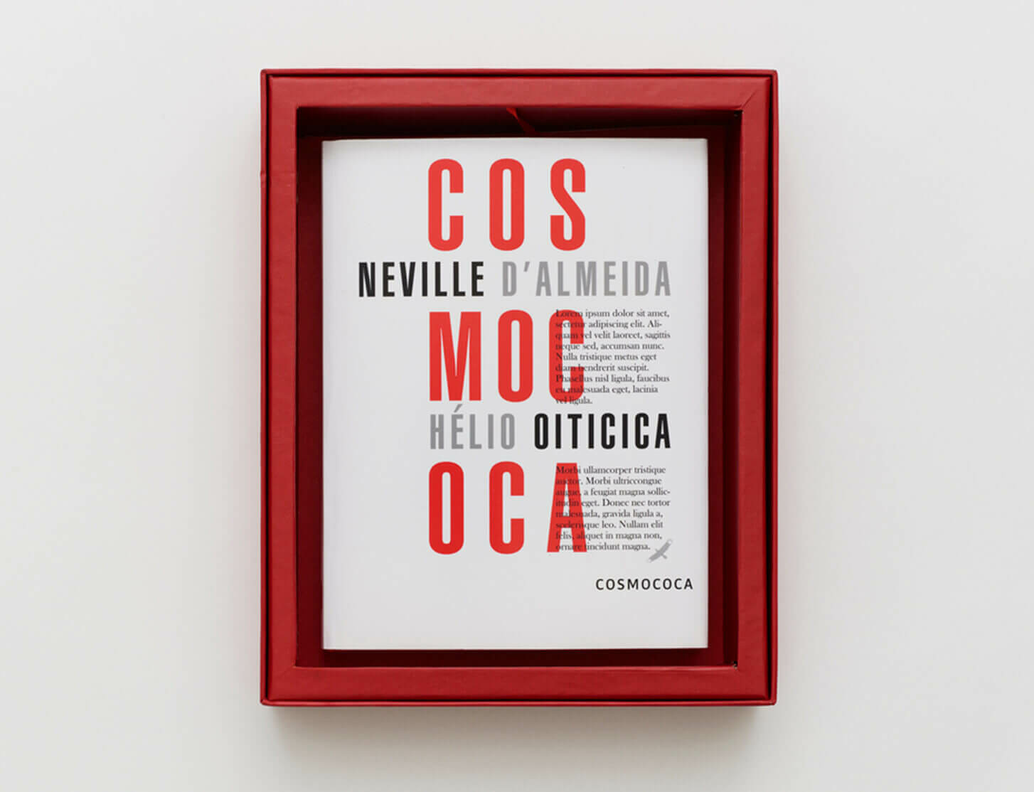 Limited edition version of Hélio Oiticica: Cosmococas artist photobox now available for pre-order