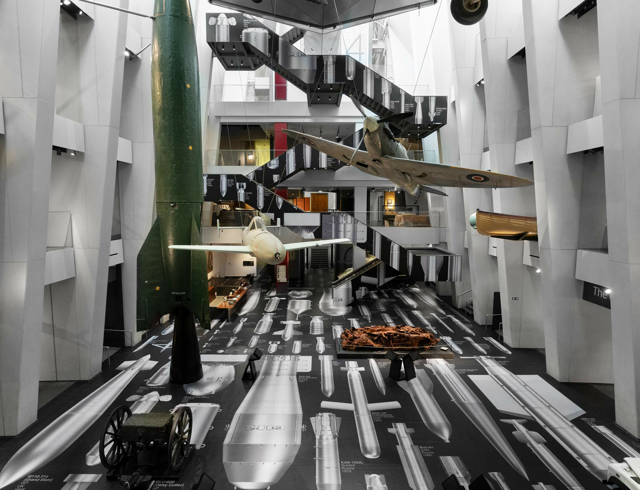 London's Imperial War Museum reopens with installation by Ai Weiwei