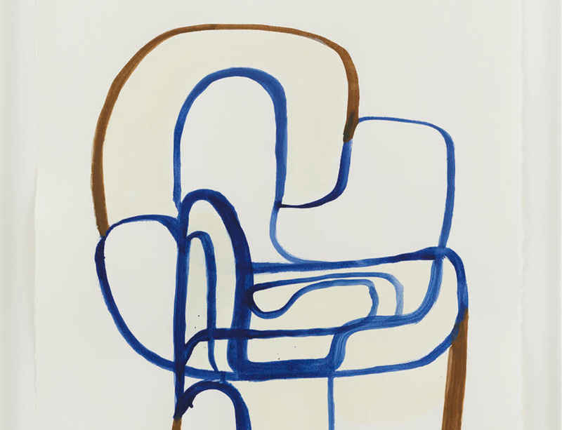 Joanna Pousette-Dart featured in The Glass House Summer Benefit Auction