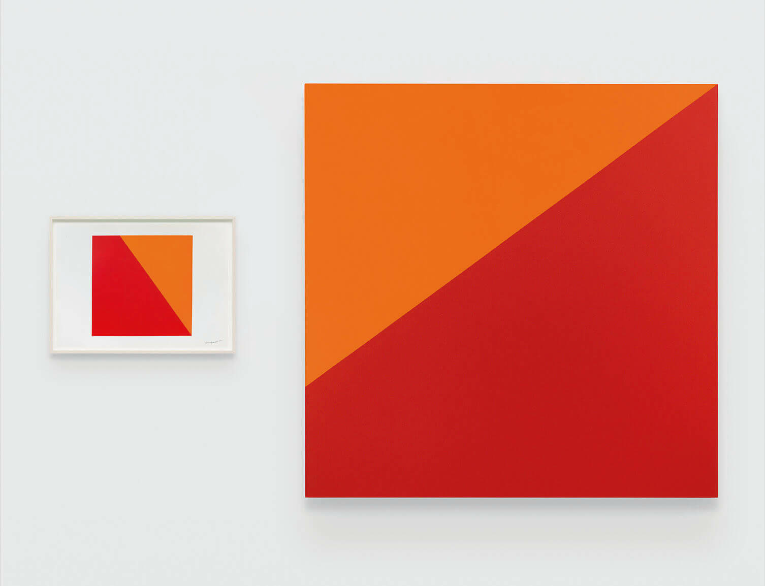 Carmen Herrera at Lisson Gallery in East Hampton
