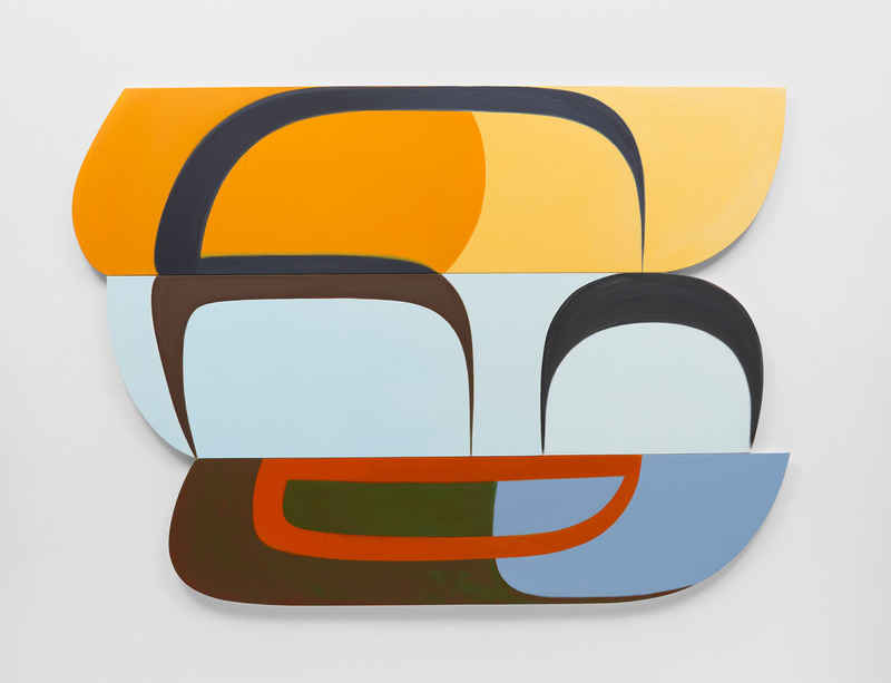 Joanna Pousette-Dart at Lisson Gallery in East Hampton