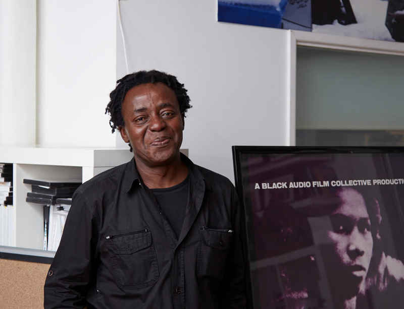 John Akomfrah virtual studio visit with Contemporary Art Society