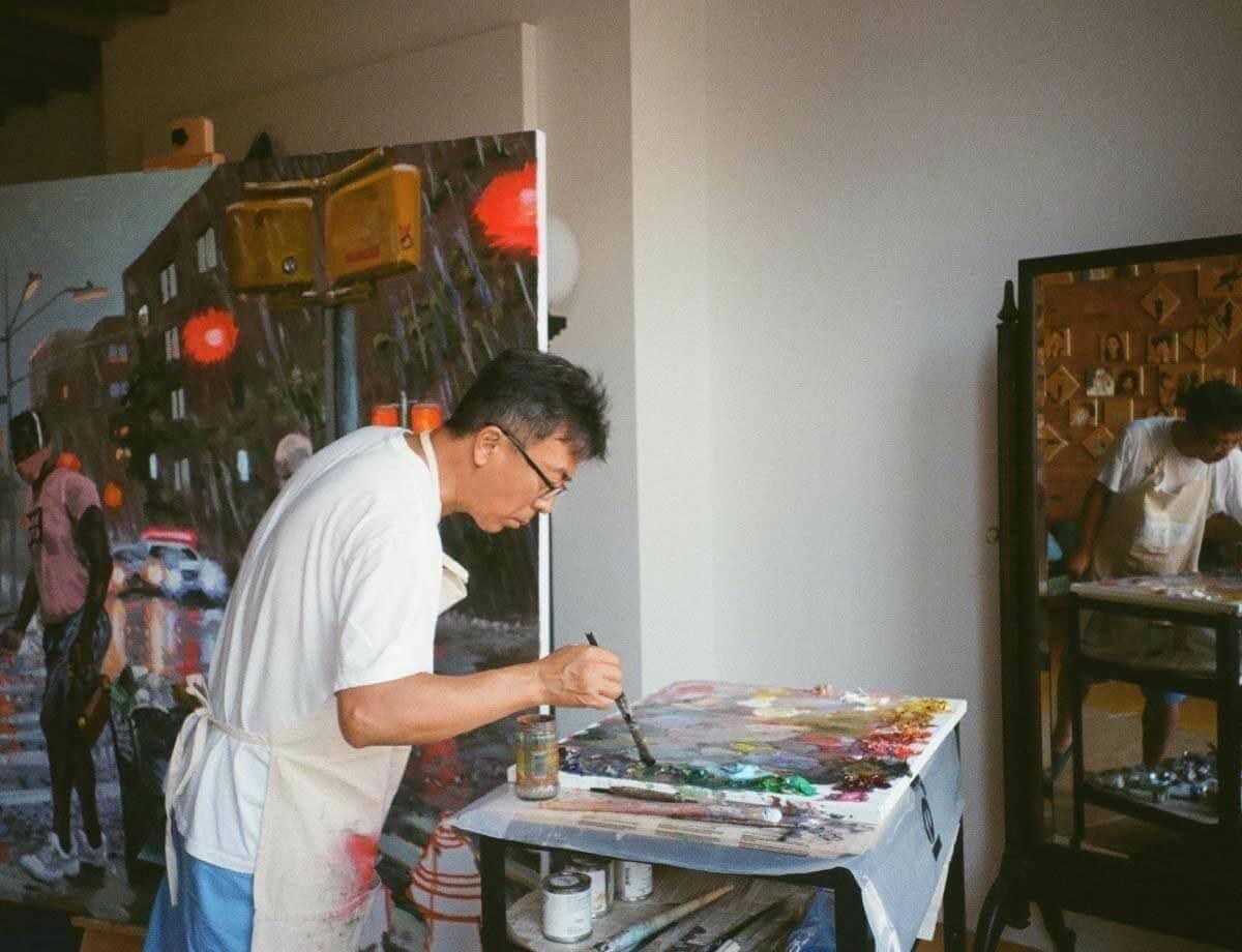 Liu Xiaodong in New York: June 2020