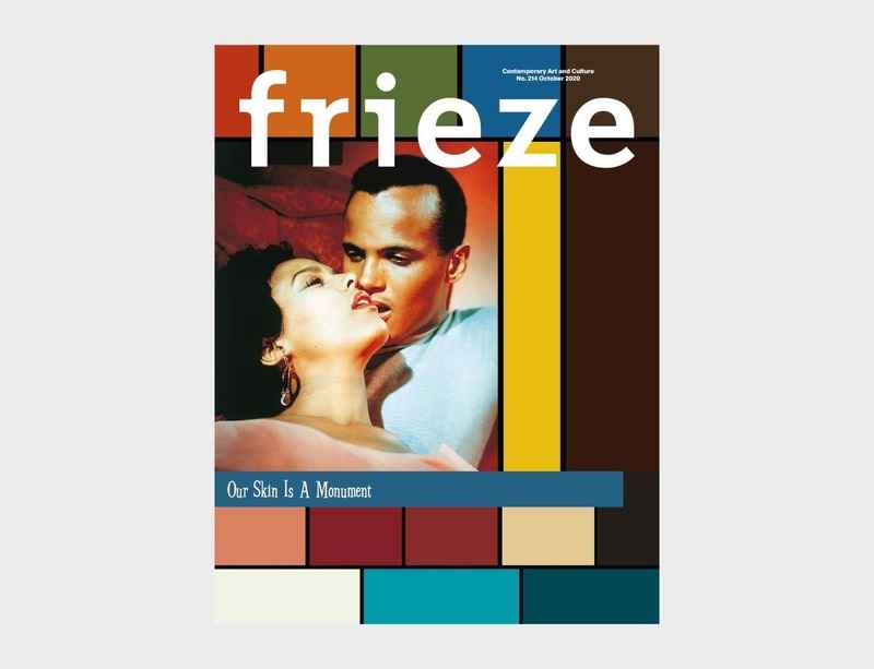 Frieze magazine's October 2020 issue features cover by and interview with John Akomfrah