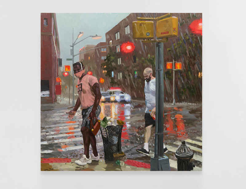 Liu Xiaodong at Lisson Gallery in East Hampton