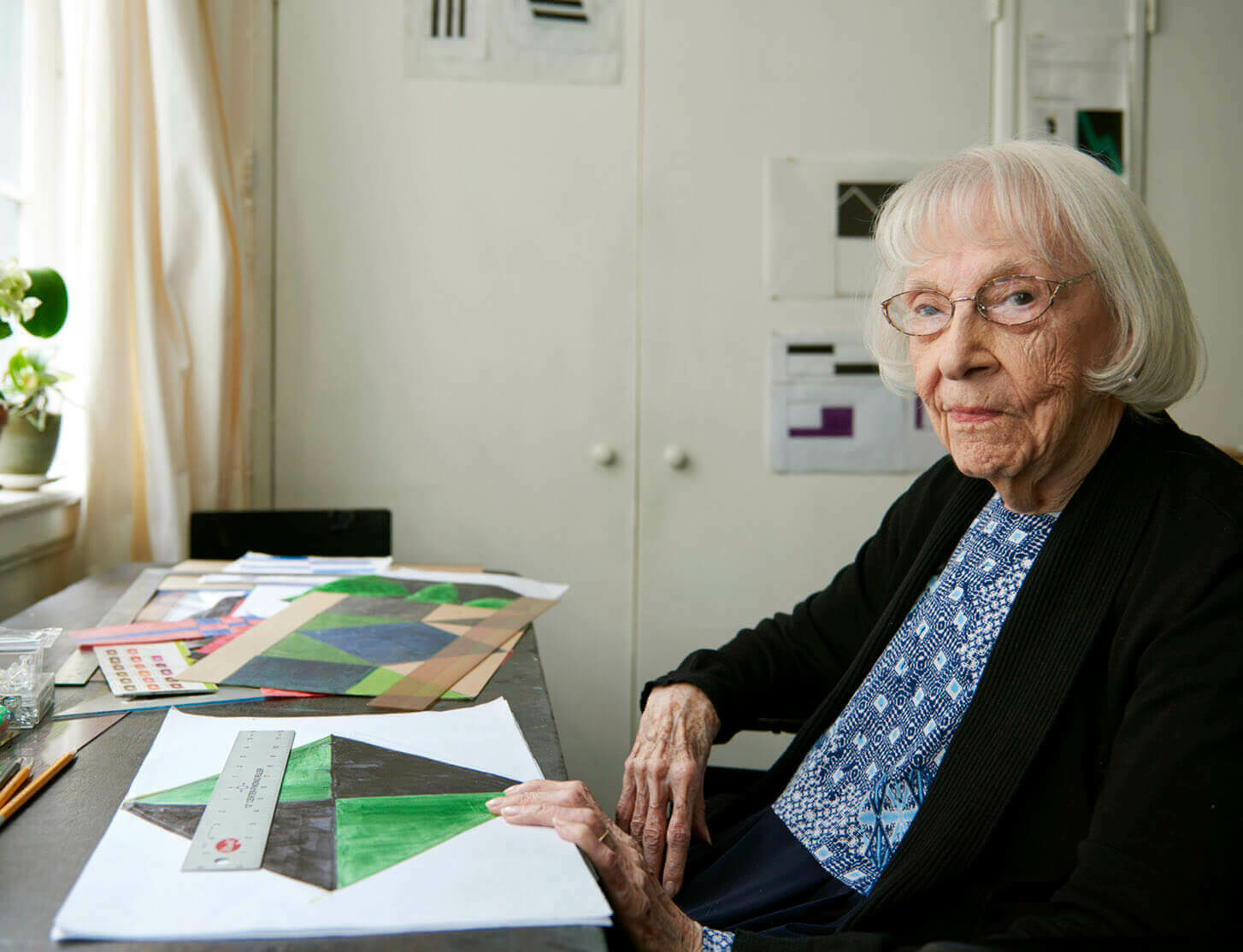 Carmen Herrera: the 105-year-old artist on late-life fame – Financial Times