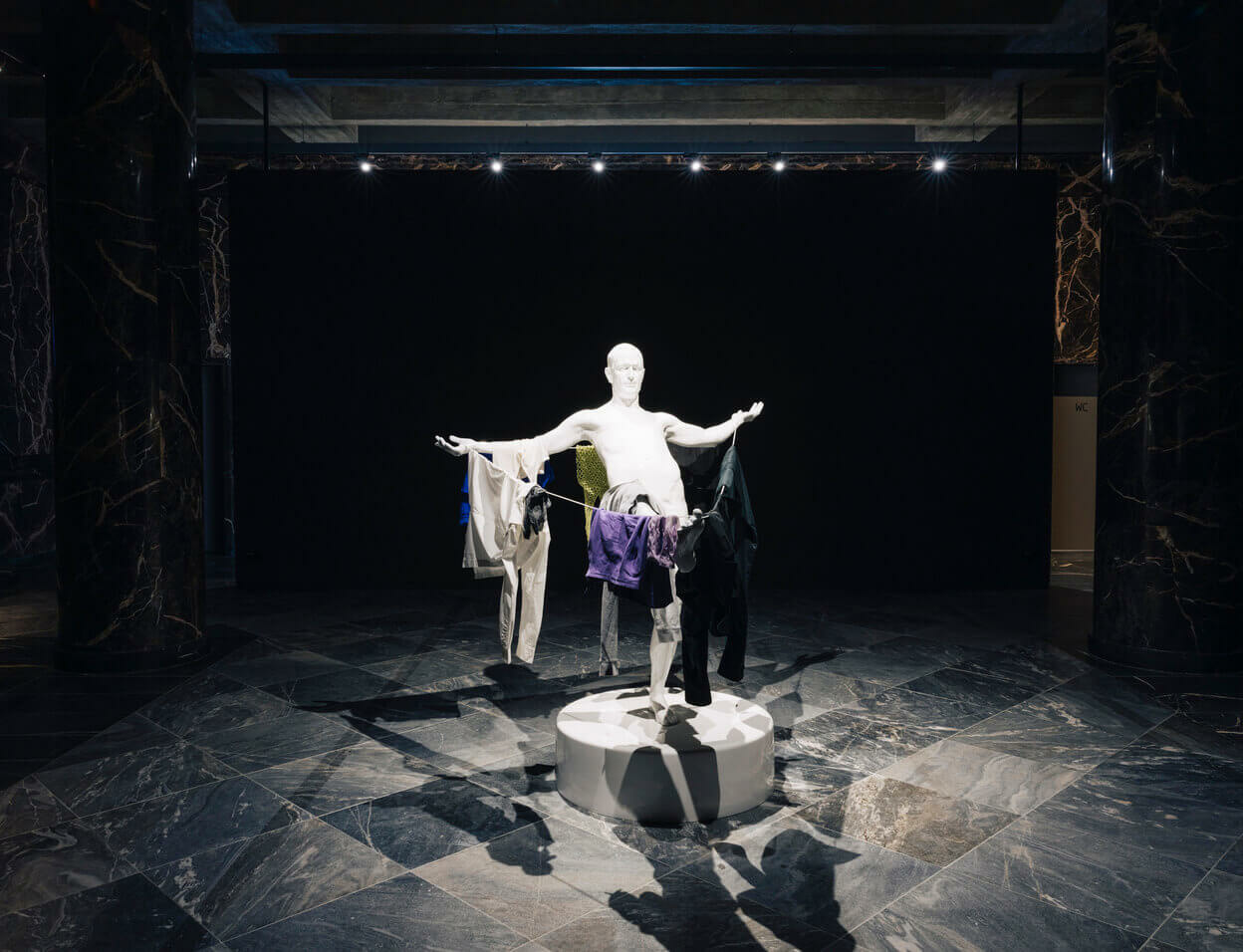 Christian Jankowski's solo exhibition 'Sender and Receiver' at Fluentum, Berlin