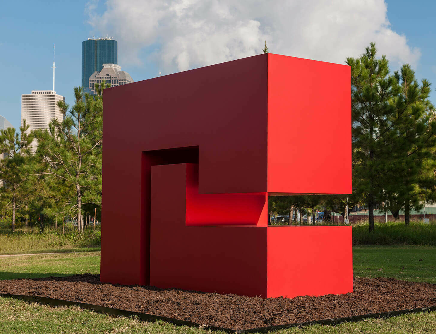 Now on view: Carmen Herrera at Buffalo Bayou Park, Houston