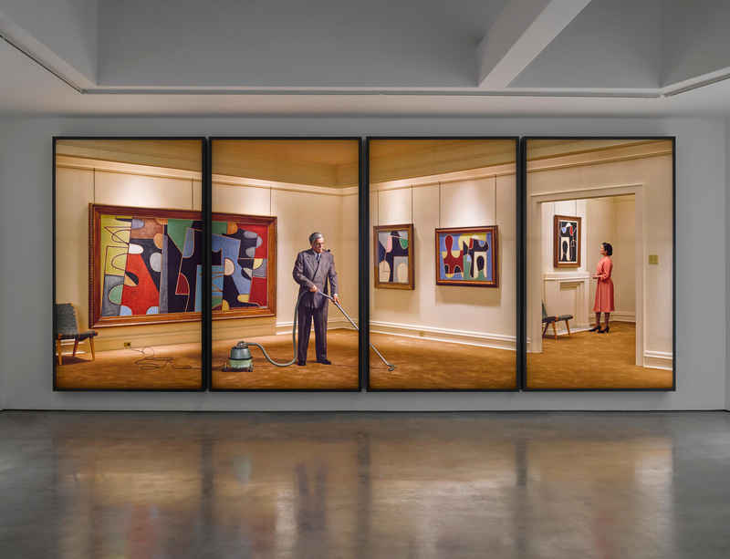 Rodney Graham's solo exhibition 'Artists and Models' at Serlachius Museums, Finland