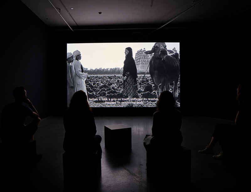 Eye Filmmuseum exhibition on landscape in the Middle East features film by Wael Shawky