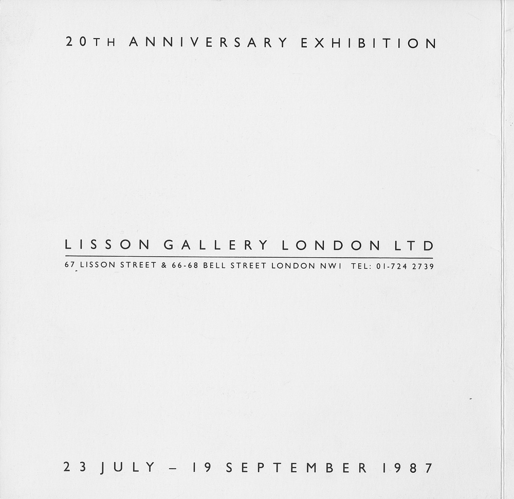 20th Anniversary Exhibition