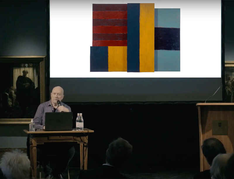 Watch now: Sean Scully's artist talk at the Hungarian National Gallery
