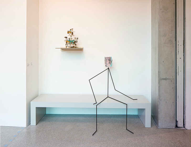 Laure Prouvost's Venice Biennale installation presented at LaM Lille alongside the Museum's collection