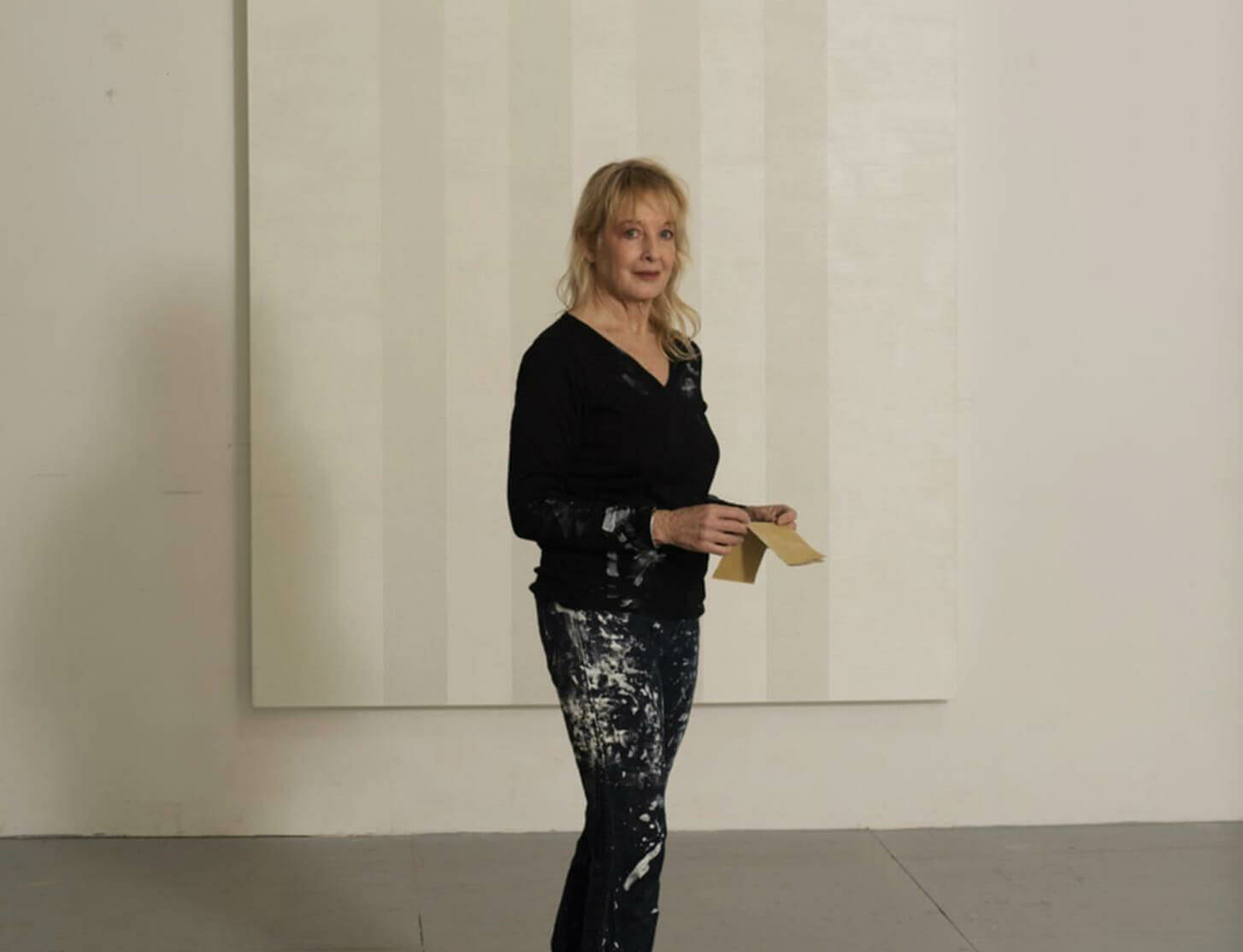 Mary Corse discusses the inspiration behind her works