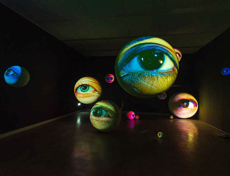 'Tony Oursler: Black Box' opens at Kaohsiung Museum of Fine Arts