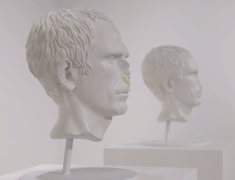Watch now: Jonathan Monk discusses his new exhibition 'Not Me, Me'