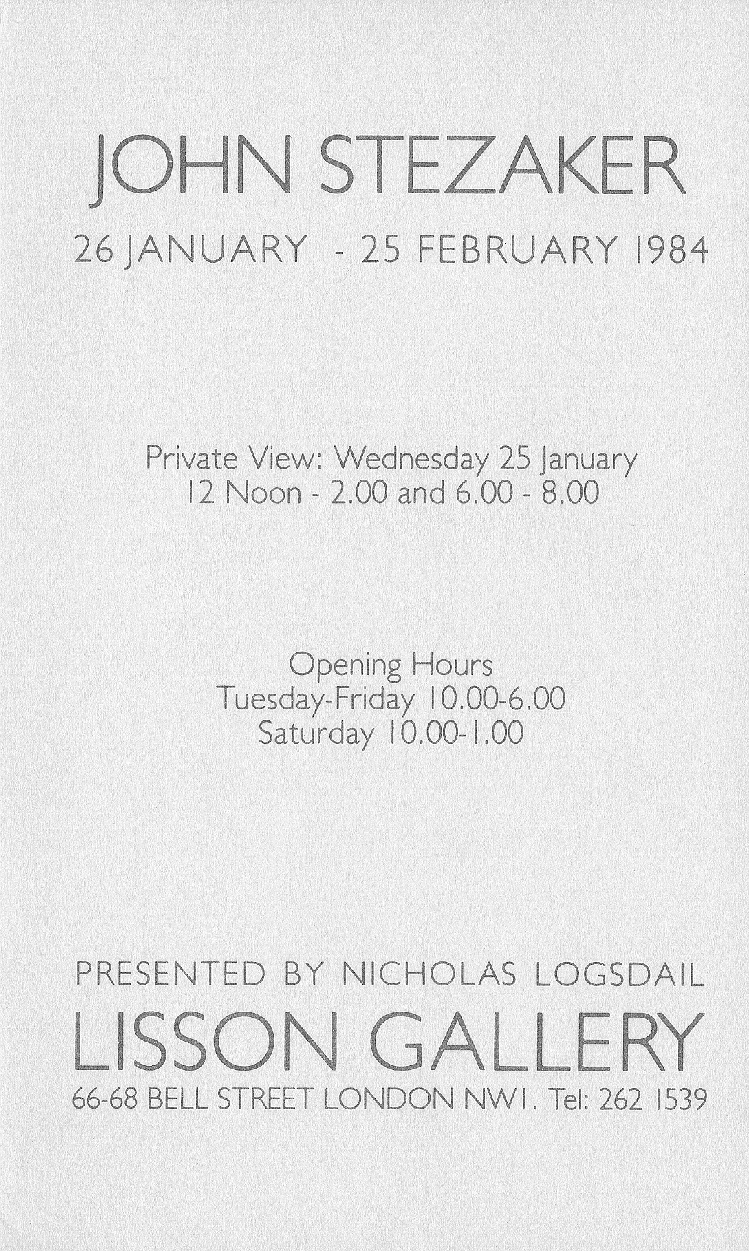 Stezaker invite 2 jan 1984 webedit