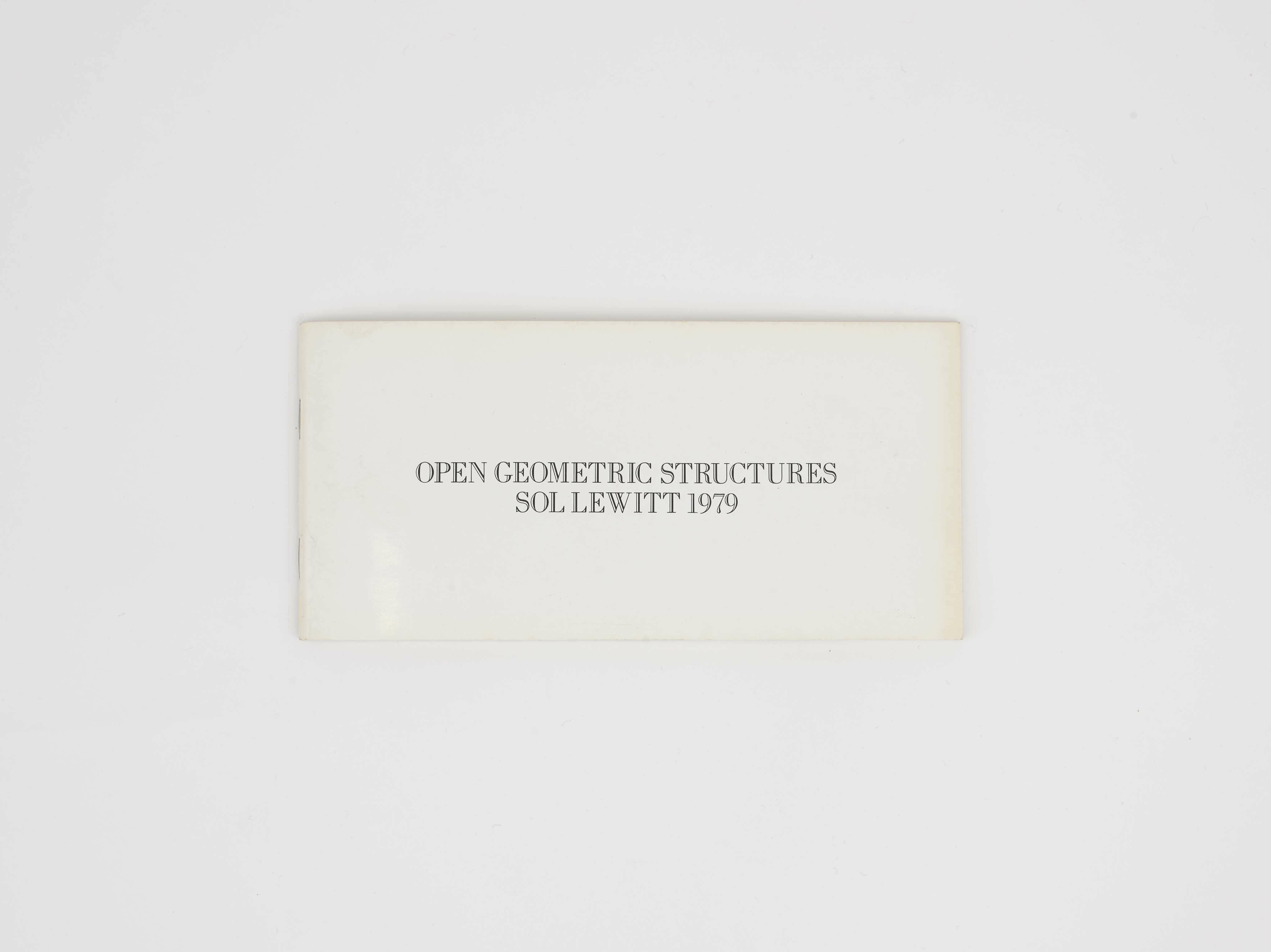 Open Geometric Structures: Five Geometric Structures and Their Combinations