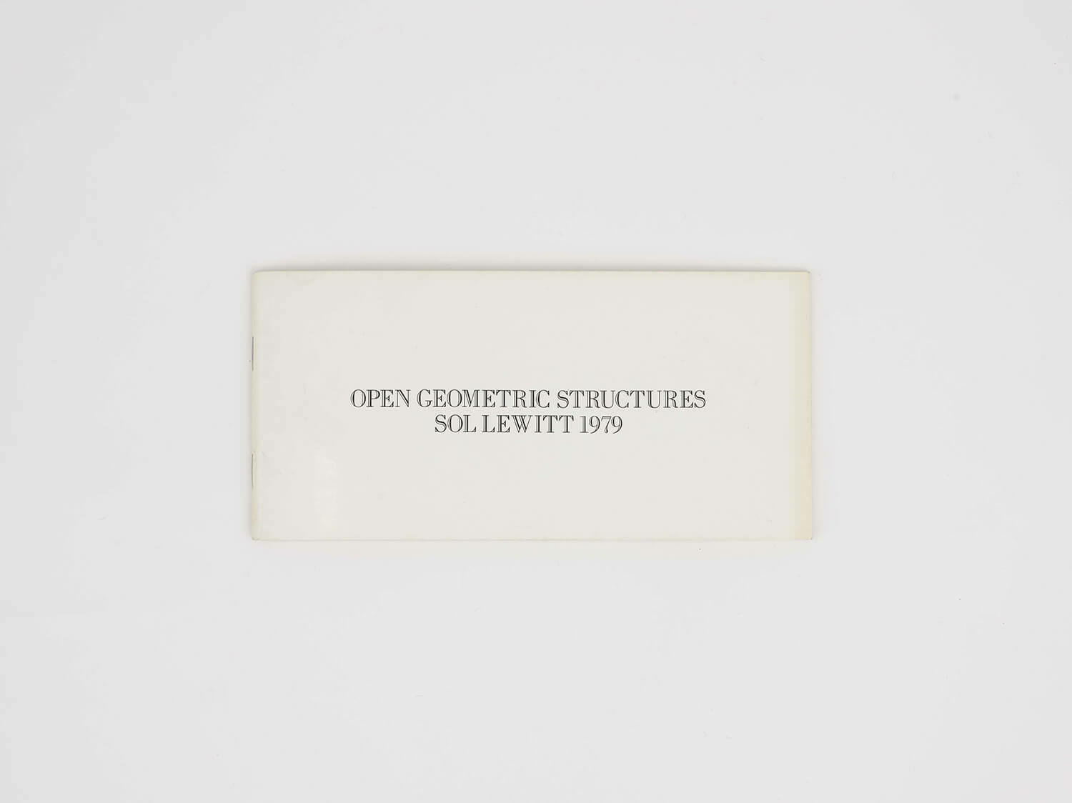 Open Geometric Structures: Five Geometric Structures and Their Combinations cover