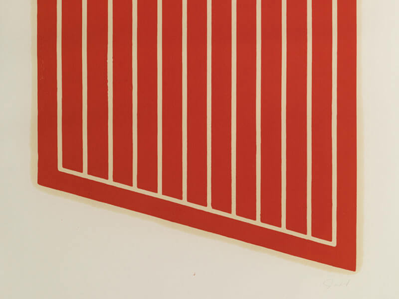 Donald Judd and Sol LeWitt at Lisson Gallery