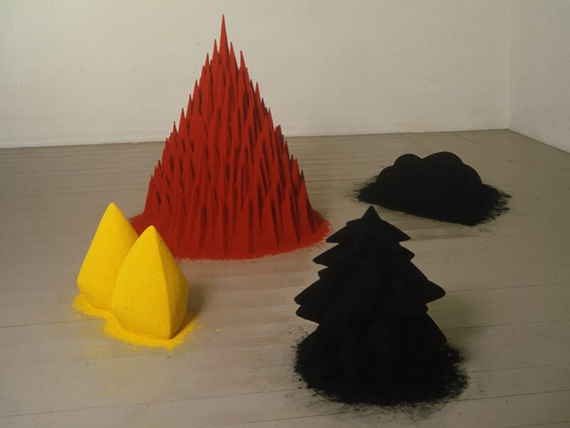 Anish Kapoor's first show