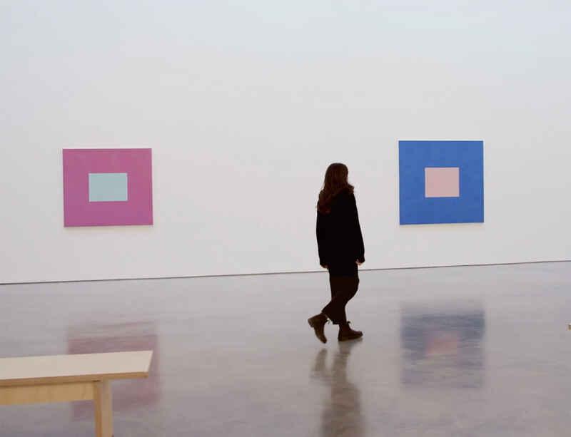 Watch now: 'Peter Joseph: The Border Paintings' exhibition walkthrough