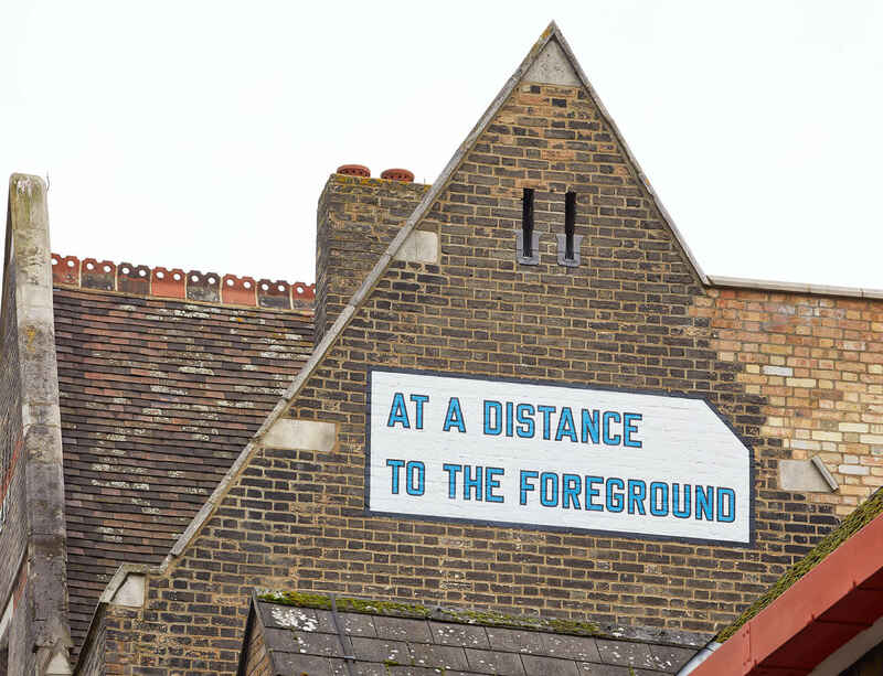 South London Gallery unveils new work by Lawrence Weiner