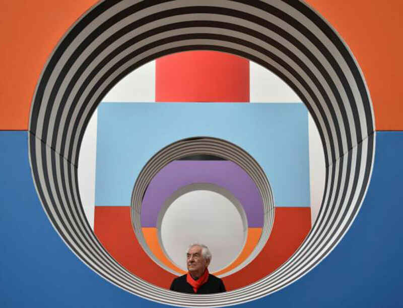 Daniel Buren's Frieze New York booth featured in Financial Times and New York Times