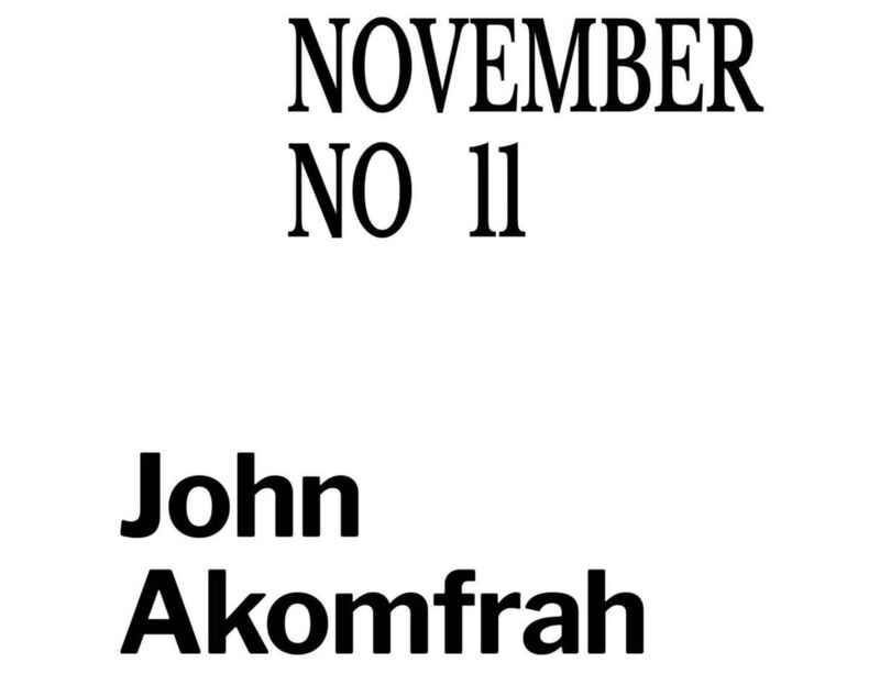 John Akomfrah in conversation with Emmanuel Olunkwa for November Magazine