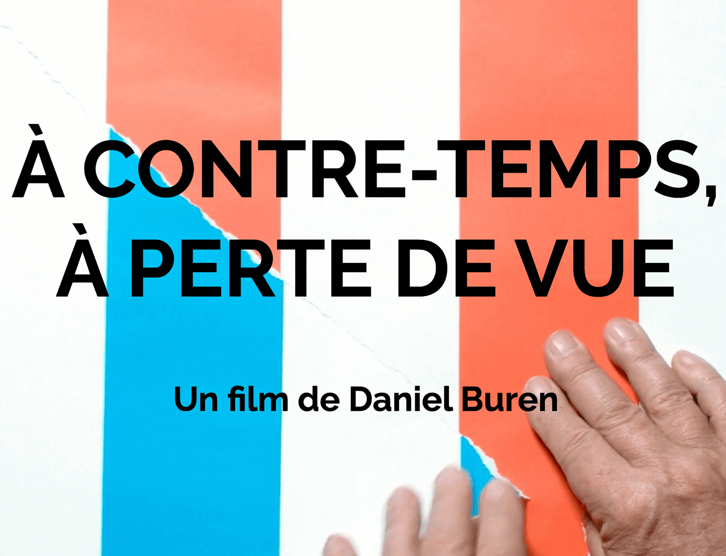 Daniel Buren releases film documenting his career from the 1960s to the present